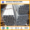 Canal U del canal de acero Q195-Q235 para la construcción de edificios