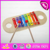 2015 Nota de madera divertida de la música del xilófono, 8 notas Juguete de madera del instrumento musical, el instrumento musical más vendido Xilófono W07c035