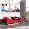 Печатание холстины стены протягиванное искусствоом, искусствоо 3 панелей