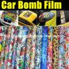 Graffiti professionali Film Car Bomb Sticker 1.52m*30m di Car con Air Free Bubbles