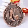 3D In reliëf gemaakte Medaille van uitstekende kwaliteit van de Sport van de Trofee van het Metaal van het Voetbal (mzb-0055)