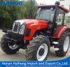 Rad-Traktor-chinesische Marke 1104 4 großer landwirtschaftlicher Traktor des Rad-110HP