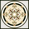 1200X1200mm 물 Jet Medallion Polished Ceramic Floor Tile