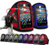 Brazo Belt Armband Pouch Cove con Earphone para Highscreen Spider