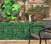 Altas plantas de calidad que cubran Valla de jardín de plástico Hedge Artificial