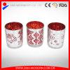 Supporti di candela Votive placcati argento di vetro all'ingrosso di alta qualità