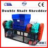 Desfibradora del eje del doble de la serie de China 2pgs para PVC PP del plástico del neumático de cristal con Ce