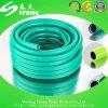 Boyau tressé de fibre de tuyau de l'eau de jardin de PVC de la qualité 5/8 ''