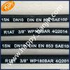 SAE100r1銘柄ゴム製ホースの適用範囲が広いホースの巻き枠
