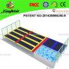 Hersteller Large Indoor Trampoline Bed für Kids und Adults