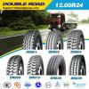 GCC-anerkannte doppelte Straßen-Radial-LKW ermüdet 12.00r24 1200r24