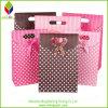 Bolso de compras cosmético del papel rayado popular del diseño
