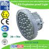 luz costa afuera a prueba de explosiones de 100W LED