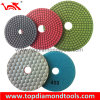 80mm-125mm Wet Diamond Flexible Polishing Pad