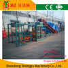 Hydraulic semi-automatique Concrete Hollow/Solid Block Making Machine (avec la machine de case)