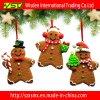 Ornamento do Natal do pão-de-espécie da árvore de Natal, decoração do Xmas