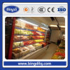 Congelador de la visualización de la bebida de la puerta de 3 vidrios/congelador de la bebida del supermercado