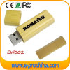 Movimentação de bambu do flash do USB com logotipo personalizado (EW002)
