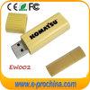 ¡Caliente! Disco de madera de la memoria del USB del USB del mecanismo impulsor de bambú del flash con la insignia modificada para requisitos particulares (EW002)