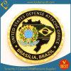Оптовая монетка обороны золота для воиска полиций