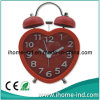Embossed Numbers (IH-7686R)를 가진 Heart-Shaped Alarm Clock