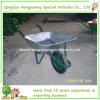 安い電流を通された金属の皿の一輪車(WB6203)