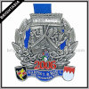Big personalizzato Zinc Alloy Lanyard Medal per Souvenir (BYH-10167)