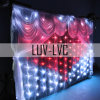 LED-dekoratives Licht-Vorhang-Licht für Hochzeit