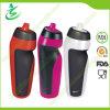 bottiglia di acqua pieghevole di sport 600ml con l'etichetta riservata