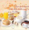 Scrematrice non casearia (per il tè del latte, del caffè, il cereale, la cottura ed altre)
