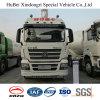 caminhão de tanque do petróleo da gasolina da gasolina do euro 4 de 28cbm Shacman com o motor de Weichai Styer