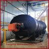 Caldeira de óleo térmico com combustível de gás natural