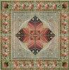 Tegel 1200X1200mm van de Vloer van het Kristal van het Tapijt van het Patroon van de bloem Tegel Opgepoetste Ceramische (BMP52)