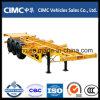 Cimc 반 세 배 차축 40FT 해골 콘테이너 트레일러