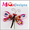 Горячий декор стены Dragonfly металла конструкции Newely сбывания
