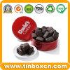 Galletas que empaquetan/poder de estaño del chocolate/rectángulo del estaño