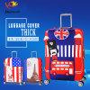 Защитная оптовая продажа крышки багажа Spandex полиэфира втулки