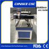 El doble dirige la pequeña cortadora de madera del CNC con rotatorio