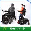 Sedia a rotelle d'acciaio resistente di energia elettrica che si leva in piedi in su