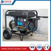 Le traitement de 5.5 kilowatts roule le groupe électrogène portatif électrique d'engine d'essence