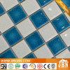 Tuile bleue de Ceramicmosaic de porcelaine de piscine de couleur (C648009)