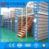 Armazém industrial Multi-Tier Storage Metal Mezzanine Rack