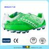Qualität PU-obere Lace-up Schliessen-Fußball-Schuhe