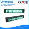 Grüne LED Anschlagtafel des hohe Auflösung-wasserdichte bekanntmachende Geräten-P10 (P1032160GOWTB)