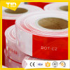 DOT-C2赤い白のプリズム反射テープ
