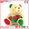 Oso animal del juguete del regalo de la tarjeta del día de San Valentín rellena fuente