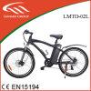 Moped com pedais Motor traseiro Bicicleta elétrica de liga de lítio