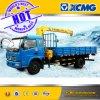 Grúa XCMG 3ton del camión que telescopa la grúa montada carro del auge