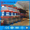 Cremalheira Cantilever industrial do armazenamento seletivo do armazém 2016
