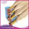 Punta pre legata del bastone di estensioni dei capelli umani capovolgo l'estensione indiana dei capelli